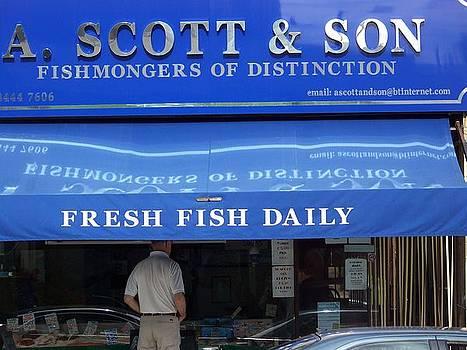 Fishmonger of Distinction by Maggie Cruser