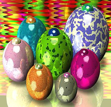 Flabber J Olive Eggs by Robert Matson