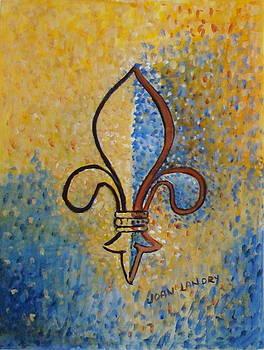 Fleur-de-Lis by Joan Landry
