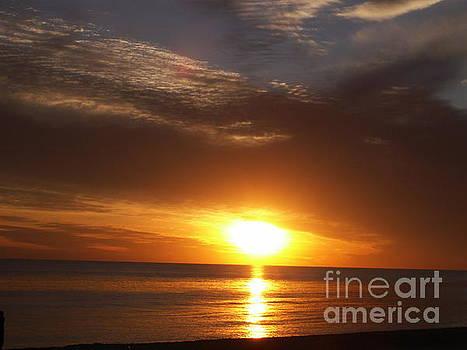 Florida sunset by Cindy Hudson