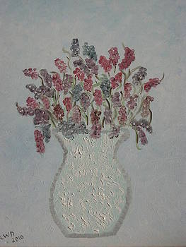 Flowers in Vase by Dawn Harrold