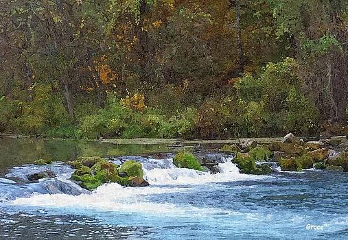 Flowing Water by Julie Grace
