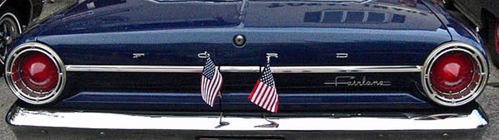 Ford Rear-End by Ruthanne McCann