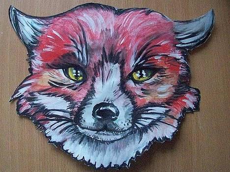 Fox Mask  by Larisa M