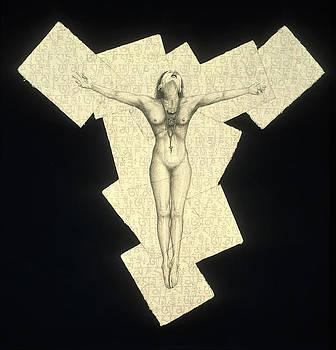 Fractured Christ by Philip Sugden