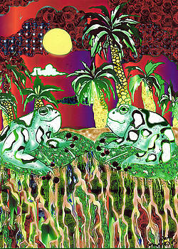 Frogs in the Sun by Dede Shamel Davalos