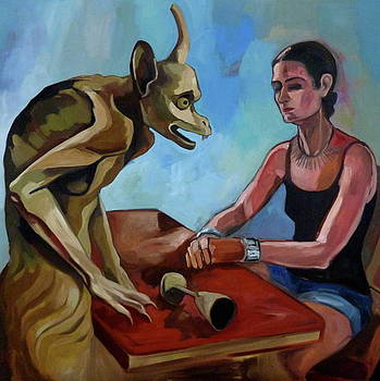 Gargoyle by Carmen Stanescu Kutzelnig