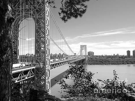 George Washington Bridge by Valerie Morrison