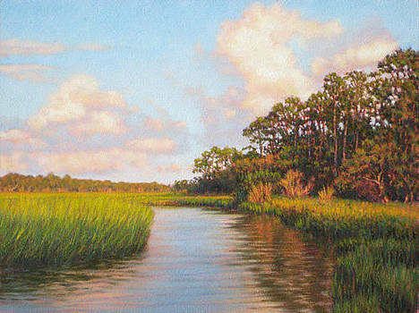 GICLEE Afternoon on Jekyll Island  by Michael Story