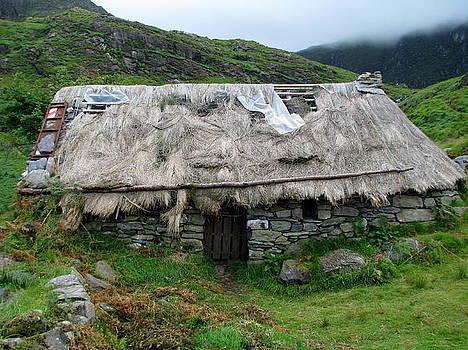 Gleninchaquin Famine House III by Sheila Rodgers