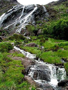 Gleninchaquin Waterfall by Sheila Rodgers