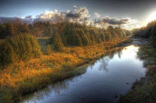 Glowing River by John-Paul Fillion