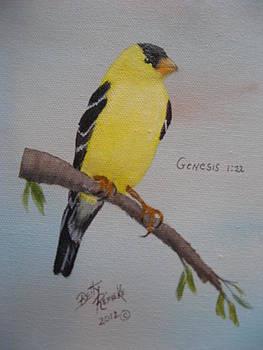 Gold Finch by Betty Reineke