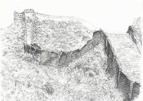 Great Wall by Sal Lomick