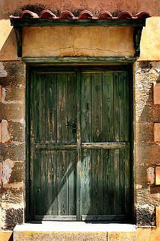 Greek Door by Shane Rees