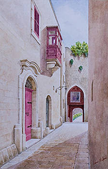 Greek's Gate at Mdina. 96 by Louis Mifsud