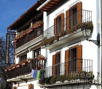 Green Balconies by Alfredo Rodriguez