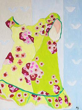 Green Dress by Martin Silverstein