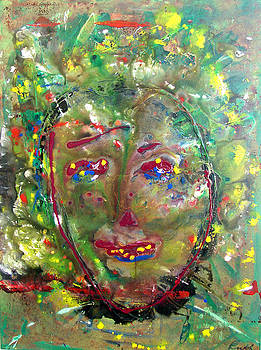 Green Woman by Ruth Beckel