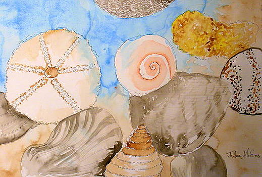 Gulf Coast Shells by Jo Anna McGinnis