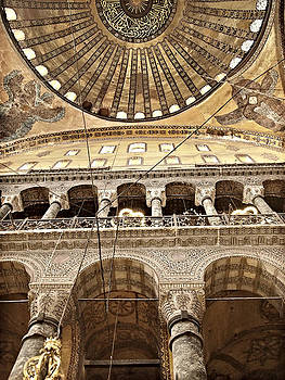 Hagia Sophia Dome by Guillaume Rodrigue