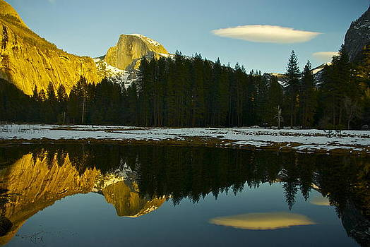 Half Dome  Yosemite by Sally Hanrahan