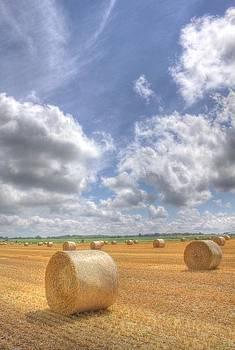 Hay Bales Forever by John-Paul Fillion