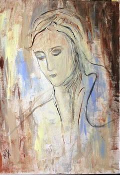 Head Of Woman by Nataliya Yutanova