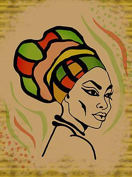 Head Wrap by Kudzai Max