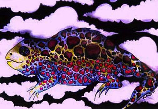 Heavenly Lizard by Dede Shamel Davalos