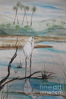 Heron by Sharon Wilkens