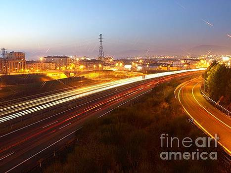 Highway to Pamplona by Alfredo Rodriguez