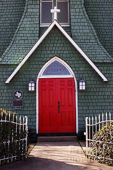 Historic Red Doors by Joy Tudor