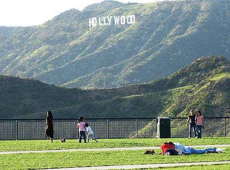 Hollywood Sign  by Victoria  Johns