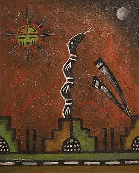 Hopi Prophecy-The Dance by Filmer Kewanyama