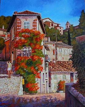 hot summer walk in Provence by Santo De Vita