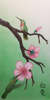 Hummingbird Pair by Devaron Jeffery