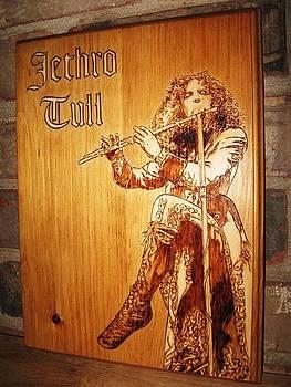 Ian Anderson of Jethro Tull by Bob Renaud