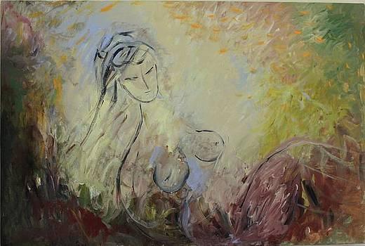 In gold by Nataliya Yutanova