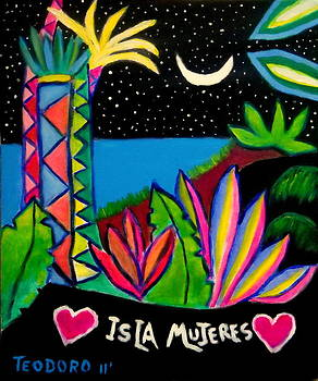 Isla Mujeres by Ted Hebbler