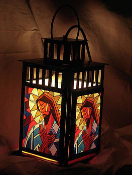 Jesus Lantern by Mary DuCharme
