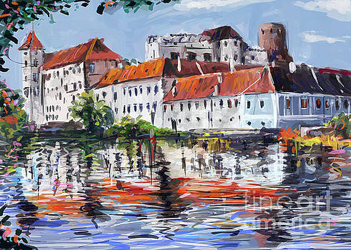Jindrichuv Hradec city by Ondrej Soukup