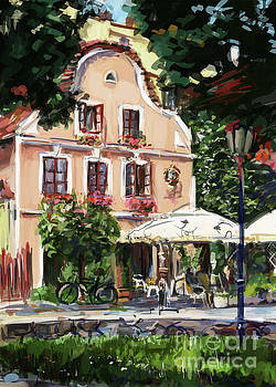 Jindrichuv Hradec restaurant by Ondrej Soukup