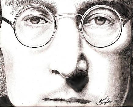 John Lennon by Michael Mestas