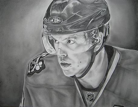 Jonathan Toews by Brian Schuster