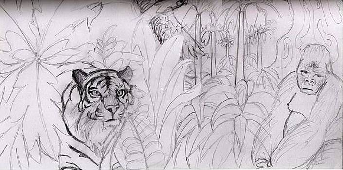 Jungle Lines by Diane Peters