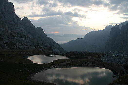 Lakes in Dolomiti by Francesco Scali