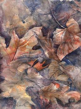 Leaves in Winter by Jo-ann Dziubek-MacDonald