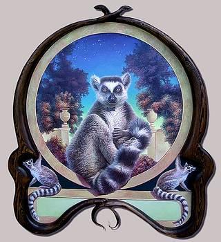 ZooFari Poster The Lemur by Hans Droog