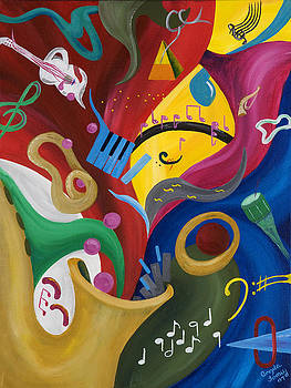 Let the Music Play by Angela Tomey
